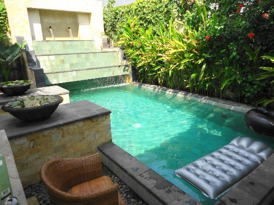 Villa Diana Bali: Pool attached to the Villa