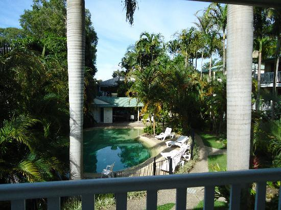Sandy Beach Resort Noosa: View from Unit 8 bedroom