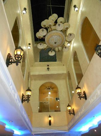 Hashimi Hotel and Hostel: looking up from downstairs