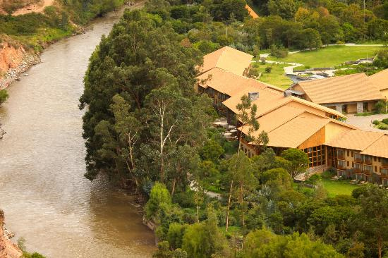 Urubamba, Perú: The Resort Seen From A Hilltop