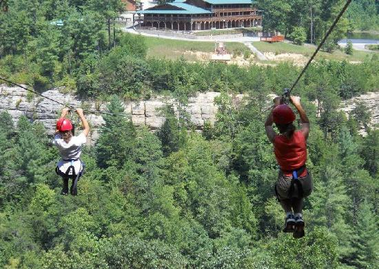 Red River Gorge Zipline (Campton, KY): Hours, Address, Top