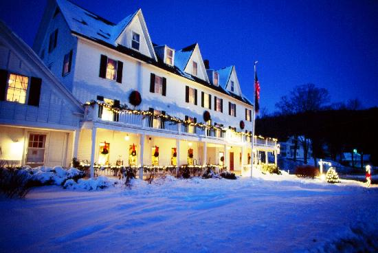 Echo Lake Inn : Winter at the Inn 