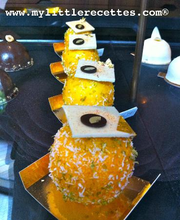 ภาพของ cake shop at mandarin oriental, paris