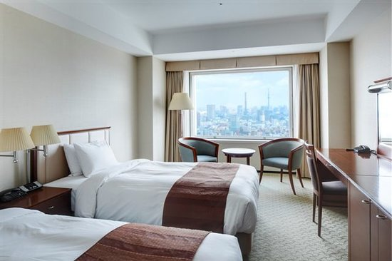 Hotel Century Southern Tower: Superior Twin Room (31㎡)