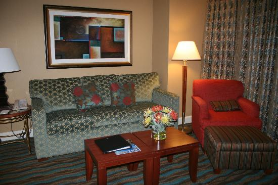 Hilton Grand Vacations Suites on the Las Vegas Strip: Sofa