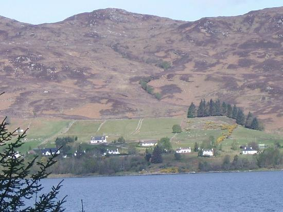 The Sithean: A view of Sithean from across Lochcarron