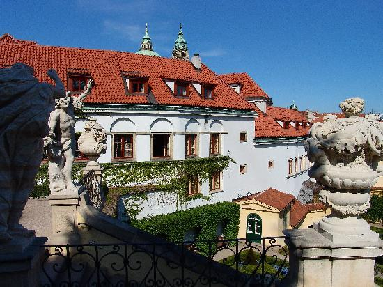 View from garden 41323786 for Quirky hotels prague