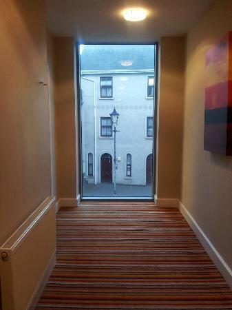Fitzwilton Hotel: a window on our floor