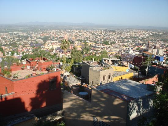 Casa Cinco Patios: View From the Patios of Beautiful San Miguel de Allende - Blooming Jacarandas