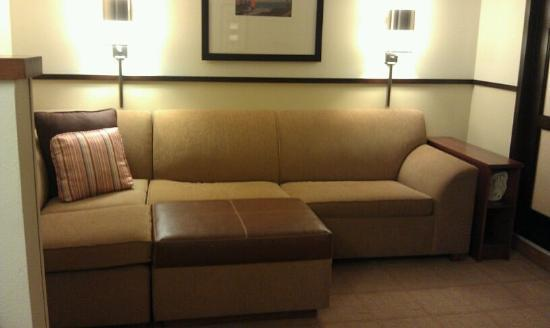 Hyatt Place Sterling/Dulles Airport-North: Seating area in room