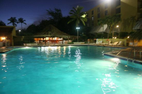 Hotel Santo Domingo: The nice relaxing pool area