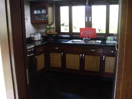 Villa di Abing: Kitchen