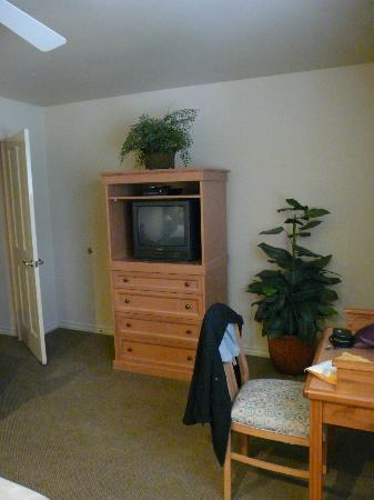 WorldMark Bass Lake: Master bedroom TV cabinet
