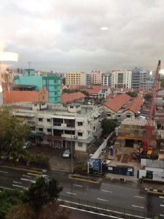 Santa Grand Hotel Aljunied: our view from room at Santa Grand Ajuined