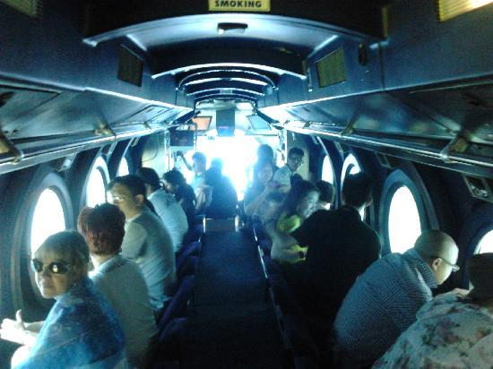 Inside the Submarine - Picture of Whale Submarine Maldives ...