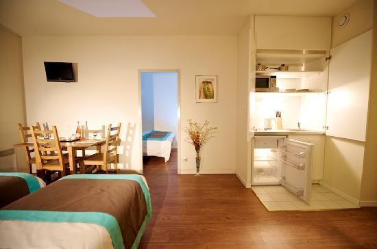 Staycity serviced apartments gare de l 39 est paris france for Apartment reviews