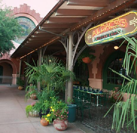 Aldaco 39 s outdoor dining for Aldaco s mexican cuisine