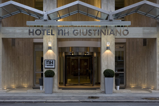 NH Giustiniano: Entrance / Outdoor