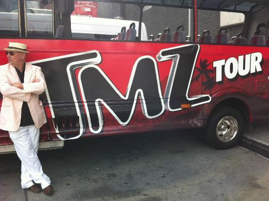 This is the bus we used picture of tmz hollywood tour for Tmz tours in los angeles