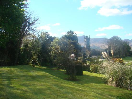 View from the gardens of the Killeen House