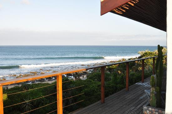 African Perfection Jeffreys Bay: Great view