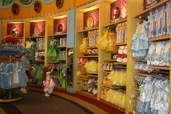 Some Of The Many Clothing Options Picture Of Bibbidi