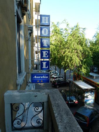 Aurelia Hotel: Balkon