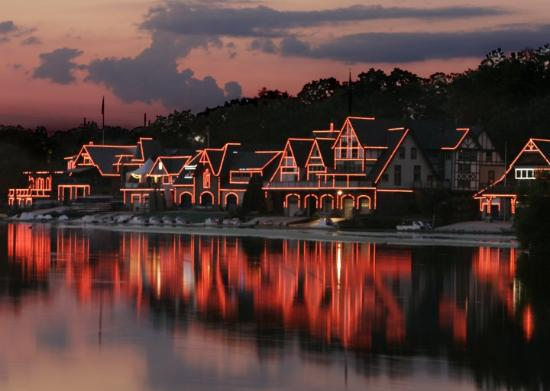 Philadelphia, PA: Boathouse Row