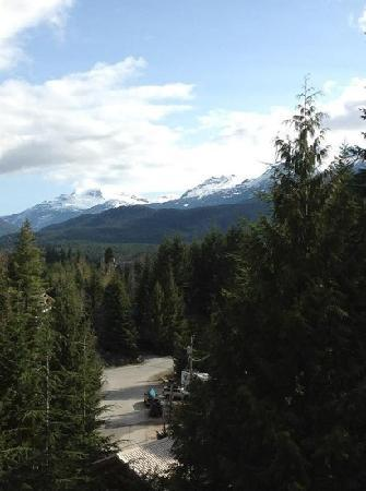 Whistler Mountain House: view from the deck - stunning