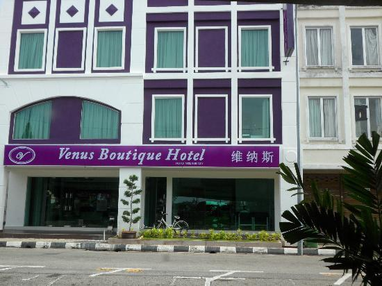 Venus Boutique Hotel: Front of hotel