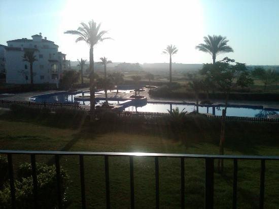 Sucina, Spain: View of Pool complex from balcony
