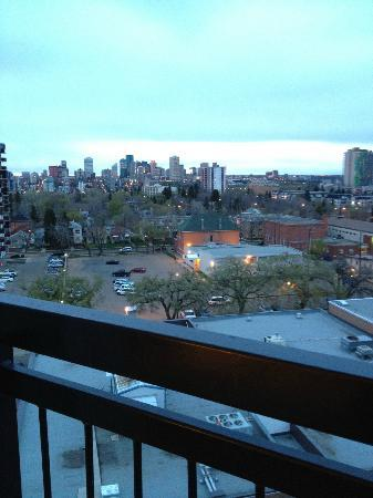 Metterra Hotel on Whyte: View from our room on the 8th floor