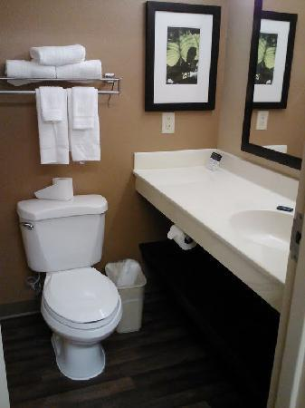 Extended Stay America - Los Angeles - Ontario Airport: Restroom