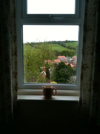 Hedgefield Guest House: proof of the view!
