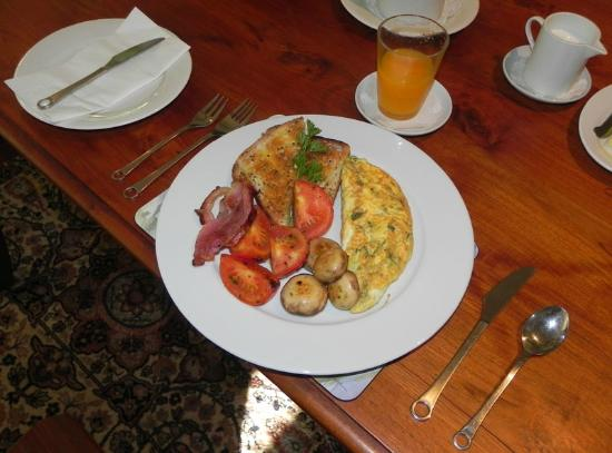 Blue Mountains, Australia: Gai's spectacular breakfast