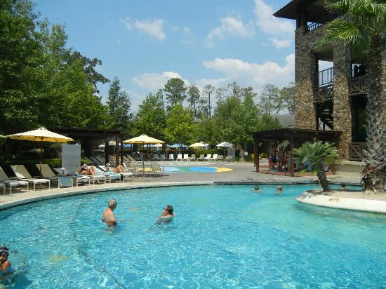 Oasis Resort Swimming Pool Picture Of The Woodlands