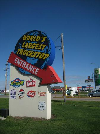 Largest Truck Stop http://www.tripadvisor.ie/LocationPhotos-g38490-d2207120-w2-Iowa_80_World_s_Largest_Truck_Stop-Walcott_Iowa.html