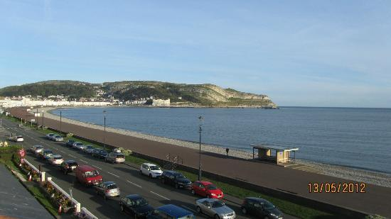 Bay County Hotel: View of the Great Orme from room