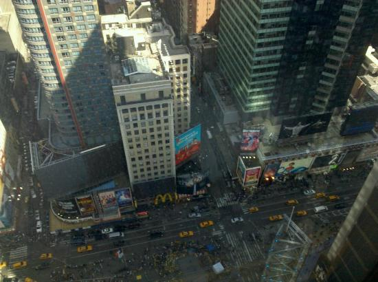 ‪‪W New York - Times Square‬: View from Cool Corner Room‬