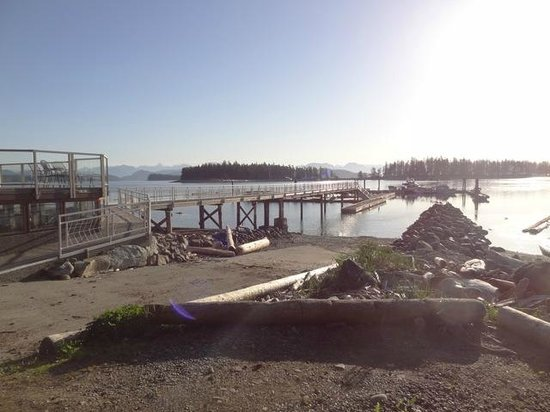 Taku Resort and Marina: Boat Ramp and Dock