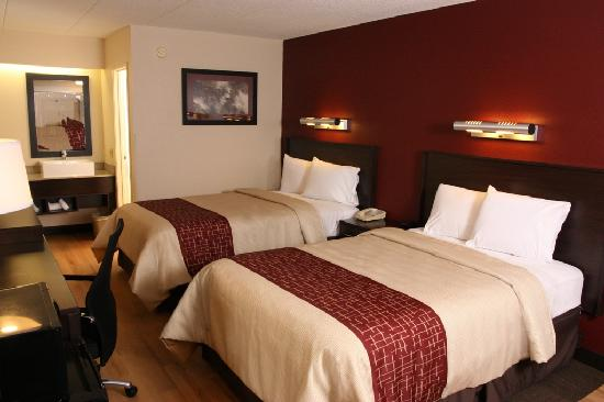 Red Roof Inn Wilmington: Deluxe Double Bed Room