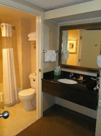La Quinta Inn &amp; Suites Hayward Oakland Airport: Bathroom / Wash area