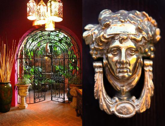 Casa Schuck Boutique Hotel: Entrance to the hacienda