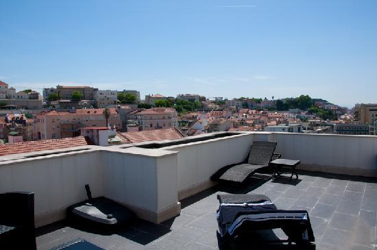 Lisboa Hotel: view from balcony