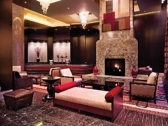 hotel lobby fireplace picture of ameristar casino resort