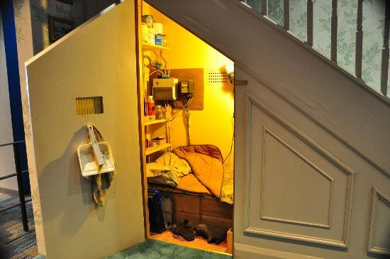 Harry 39 S Bedroom Under The Stairs Picture Of Warner Bros