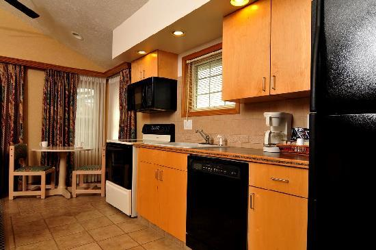 Skaneateles Suites: Treetop Suites Kitchen