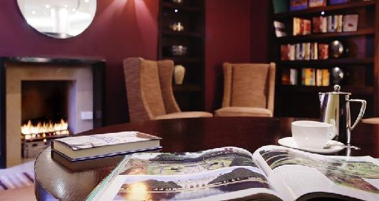 The Croke Park Hotel: Hotel Library