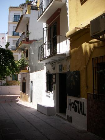 The Hostal del Pilar Courtyard
