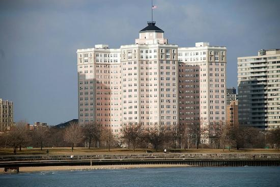 Edgewater Beach Hotel  Chicago  Il   Address  Point Of